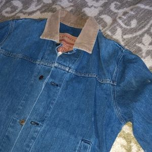 Authentic Levi's western denim duster jacket